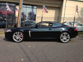 2008 Jaguar Certified XKR Coupe 20 Senta Wheels Red Calipers