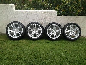 "Jaguar XK8 Genuine Factory Wheels Tires 19"" 2000 2001 2002 2003 2004 03 04"
