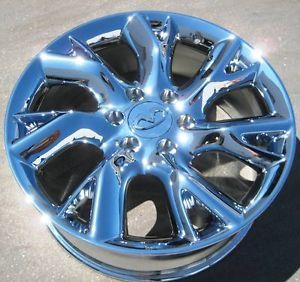"4 20"" Factory Infiniti QX56 Chrome Wheels Rims 2011 13 Titan Armada 73727"