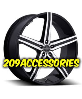 22 inch VER228 B M Rims Wheels and Tires Ridgeline Acura MDX Rangerover Camaro