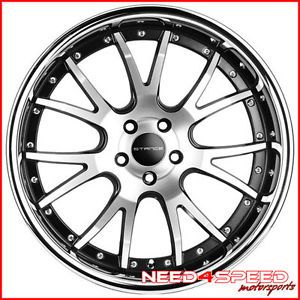"20"" Infiniti M37 M56 Stance ST1 Machined Staggered Wheels Rims"