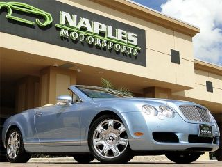 2007 Bentley Continental GTC Silverlake with Magnolia Chrome Wheels Excellent
