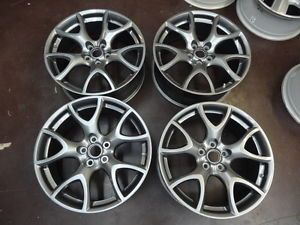 "Set of 4 mazdaspeed RX8 ""R3"" Factory Wheels Rims 19"" Forged Aluminum 309"
