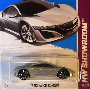 Hot Wheels 2013 HW Showroom '12 Acura NSX Concept L Case