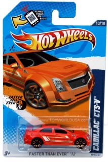 2012 Hot Wheels Faster Than Ever 100 Cadillac cts V
