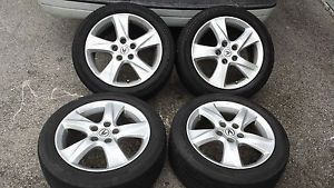 09 12 Acura TSX Factory 17 Wheels Tires Rims 225 50 17 Accord 04 08 TL