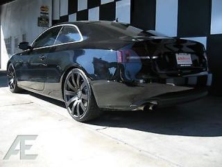 20 inch Chrysler 300 LX 300C SRT8 Wheels Rims and Tires HR4 Matte Black
