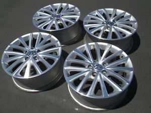 "2012 VW Jetta Passat Aluminum 17"" Factory Wheels Rims Audi A3 18 GTI Golf"
