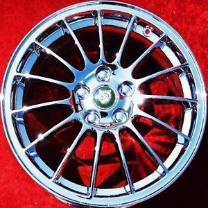 "Set of 4 New 17"" Jaguar s Type XF ""Antares"" Factory Chrome Wheels Rims 59803"