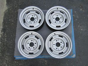 '68 69 Chevy Nova Camaro Chevelle Rally Wheels 14x6 Ralley Rims RARE
