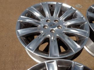 "20"" Factory Polished Ford Lincoln MKX MKT MKZ Edge Flex Taurus Wheels"