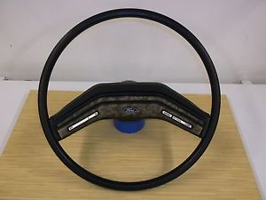 1978 1986 Ford Bronco Truck F 150 F 250 Black Cruise Steering Wheel