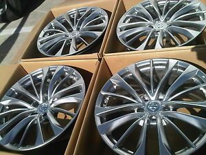 19'' Infiniti G37 G35 M35 M37 M45 Maxima Rims Wheels Enkie Factory 2013