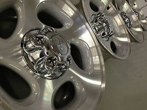 4 Ford Ranger Explorer Factory 16 Wheels Rims Caps Machined
