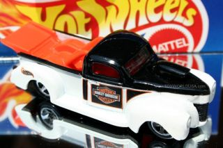 Hot Wheels Harley Davidson 1940 Ford Drag Truck