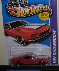 Hot Wheels '68 Ford Mustang Shelby GT500 ★ 2013 Performance