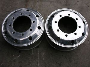 19 5 Ford Superduty Pickupalcoa Wheels Rims Front Dually Polish