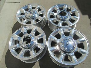 "20"" Ford F250 F350 Factory Super Duty Factory Wheels Rims 2013"