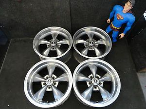 "18"" Ford Mustang Wheels 1994 2012 Replica GT Pony Bullet Style Cobra Rims"