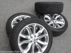 "2011 2014 20"" Ford Explorer Wheels Rims Tires"