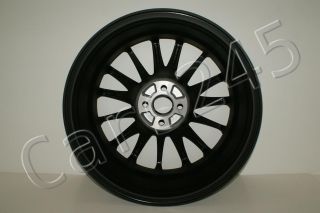4X Pcs Fiat 500 Ford Magneti Marelli Black Alloy Wheels Rims R16 16 4x98 ET35""