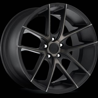 18x8 Black Flake Niche Targa M130 Wheels 5x4 25 40 Jaguar x Type XF s Type