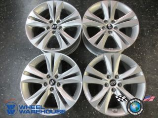"Four 09 12 Hyundai Genesis Coupe Factory 18"" Wheels Rims 70788 70789"