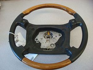 Jaguar XJS Wood and Black Leather Steering Wheel 1996