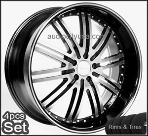"20"" Wheels and Tires Pkg Camry Maxima Lexus Impala Rim Wheel Rims"