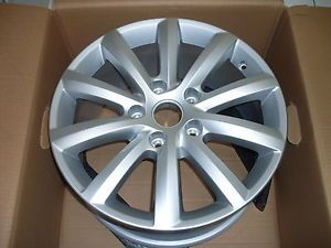 "18"" Tacora Alloy Wheel New Shape VW Touareg 7P6601025B New Genuine VW Parts"