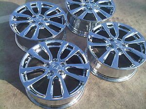 "Nissan Pathfinder 18"" 2013 Factory 4X Rims Wheels Chrome Brand New 98456"