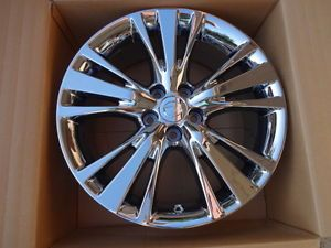 "2013 Lexus RX350 19"" PVD Chrome Wheel Rims Set of 4 Lexus Wheel 74254"