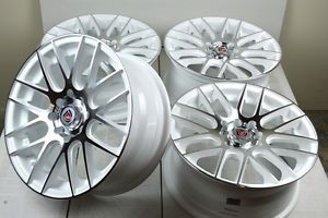 15 White Rims Wheel Tire Chevy Aveo Cobalt Scion XA XB IQ Honda Civic Accord CRX