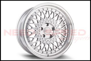 "18"" Avant Garde M220 Silver Staggered Wheels Rims Fits Scion FRS TC Subaru BRZ"