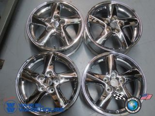Four 02 03 Mazda MPV 5 6 Factory 16 Chrome Wheels Rims 64848 Outright Sale