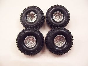 Super Swamper Bogger Tires Wheels Set 4x4 Parts Model 1984 GMC Ford Dodge Truck