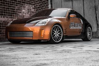"20"" Nissan 350Z 370Z Roderick RW6 Concave Staggered Wheels Rims"