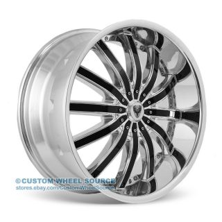 "20"" Venice Dolce Chrome Rims for Pontiac Lincoln Scion Toyota Wheels"