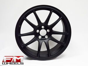 18x8 5 Koya CR Tek Flat Black Rims 5x100 VW Jetta Golf GTI R32 Scion FRS Wheels