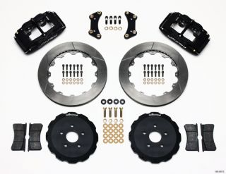 "Wilwood Disc Brake Kit Front 05 10 Scion TC 13"" Black"