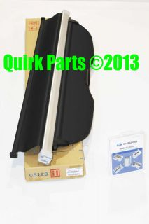 2009 2013 Subaru Forester Protection Kit Cargo Cover Wheel Locks Genuine New