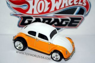2011 Hot Wheels Garage Volkswagen 01 Volkswagen Beetle