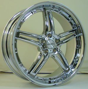 Lenso Wheel LS31 20x8 5 5x112 40 Chrome Finish Mercedes Audi VW New Wheels