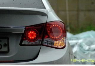 Infiniti Style Rear LED Tail Light Lamp 1set for Chevrolet 2011 2013 Cruze