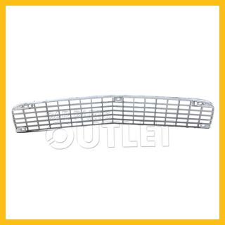 80 81 Chevy Camaro Z28 Front Bumper Upper Chrome Grille Mat Argent Silver Insert