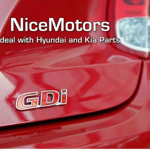 Hyundai 2012 Veloster Trunk GDI Rear Emblem Badge Genuine Parts