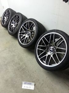 "19"" VMR VB3 V703 CSL Rims Wheels Tires Hyper Black GTO BMW Trans Am G8 5x120"