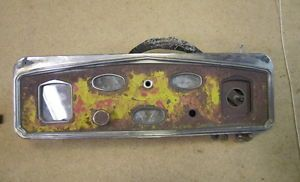 1929 1930 DeSoto Chrysler Dodge Plymouth Gauge Cluster Dash Instrument Parts