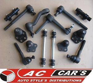 14 Suspension Parts Dodge RAM 2500 3500 2WD 00 01 02 Ball Joints Tie Rods