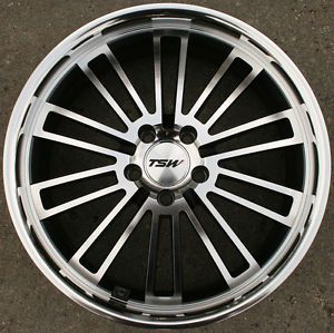 "TSW Nardo 18"" Gunmetal Rims Wheels Honda Accord 5 Lug 18 x 8 0 5H 40"